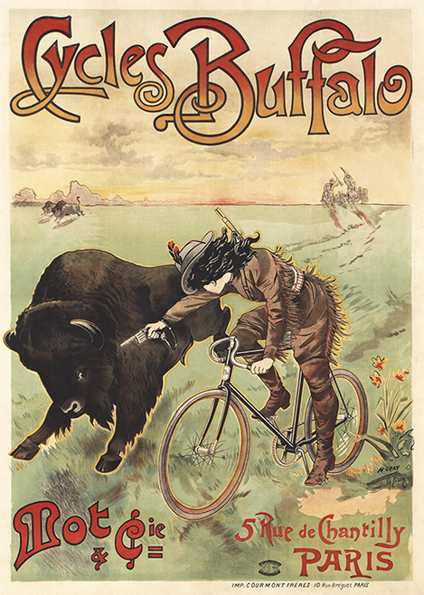 Cycles Buffalo  Poster