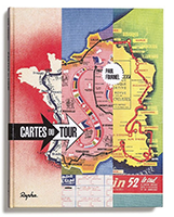Cartes du Tour (Maps of the Tour de France) by Paul Fournel for Rapha Editions