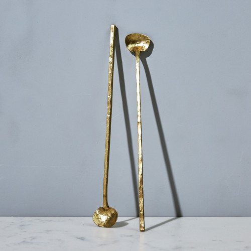 Brass Cocktail Spoon by ME Speak Design