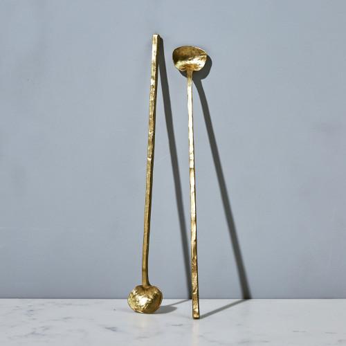 Brass Cocktail Spoon by ME Speak Design