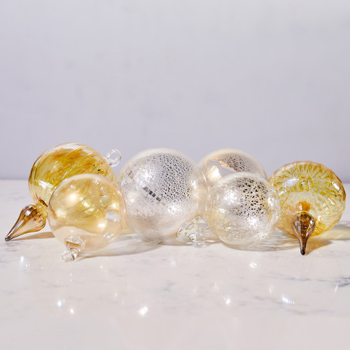 Hand-Blown Ornaments by Terrane Glass
