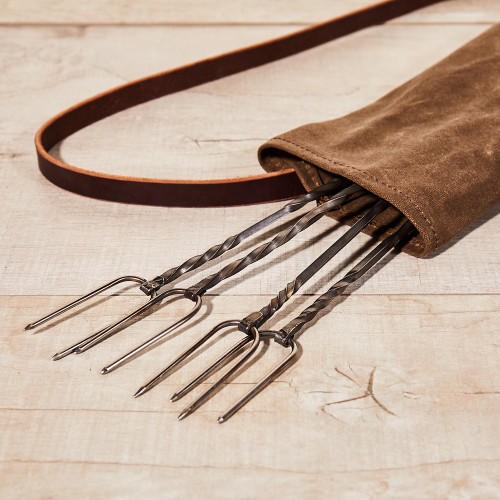 Roasting Forks & Quiver by Sea Island Forge