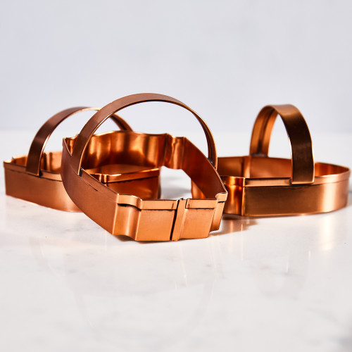 Copper Game Mount Cookie Cutters by Sir/Madam