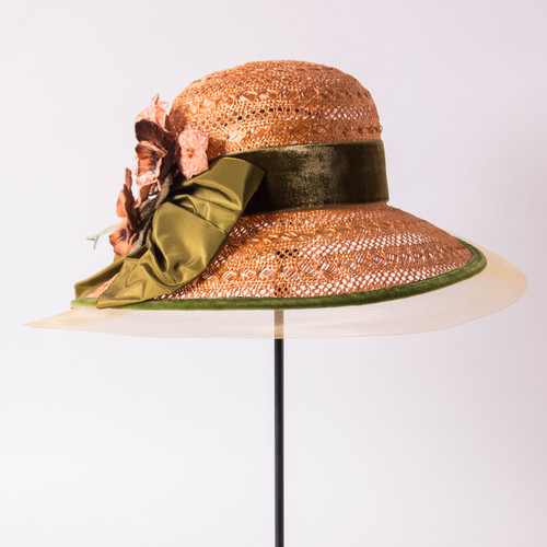 The Elizabeth Derby Hat by Louise Green