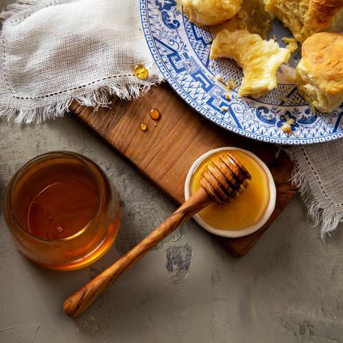 Olive Wood Honey Dip
