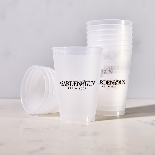 Frosted Tumblers by Garden & Gun