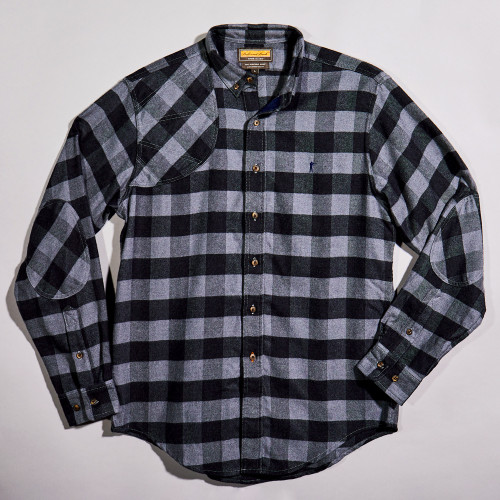 Black Shooting Shirt by Ball and Buck