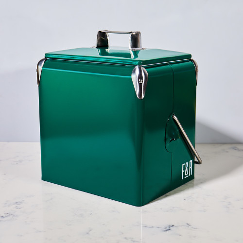 Vintage-Inspired Metal Cooler by Foster & Rye