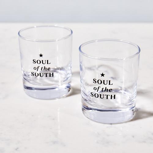 Soul of the South Rocks Glass by Garden & Gun