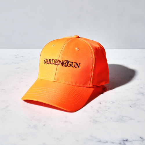 Blaze Orange Hat by Garden & Gun