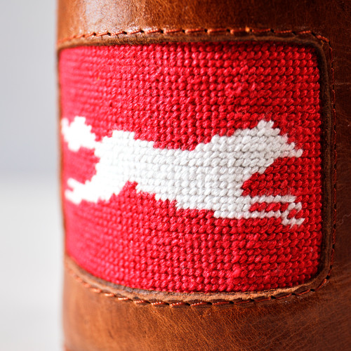 Fox Leather Coozie by Smathers & Branson