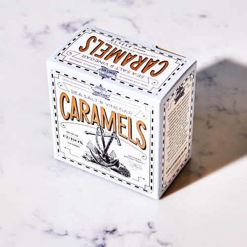 Sea Salt & Vinegar Caramels by Olive & Sinclair Chocolate Co.