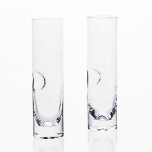 Handblown Champagne Flute by Terrane Glass Co.