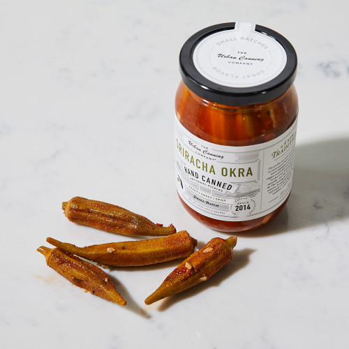 Sriracha Okra by The Urban Canning Co.
