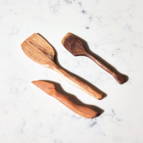 Wooden Kitchen Tools by Burls and Steel