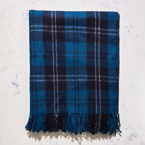 Recycled Wool Blanket in Ramsay by The Tartan Blanket Co.