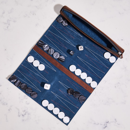 Travel Backgammon Game by Moore & Giles