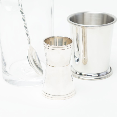 Silver-Plated Jigger by Corbell Silver