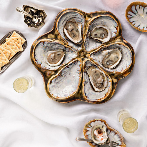 Oyster Cellar by Gogo Jewelry
