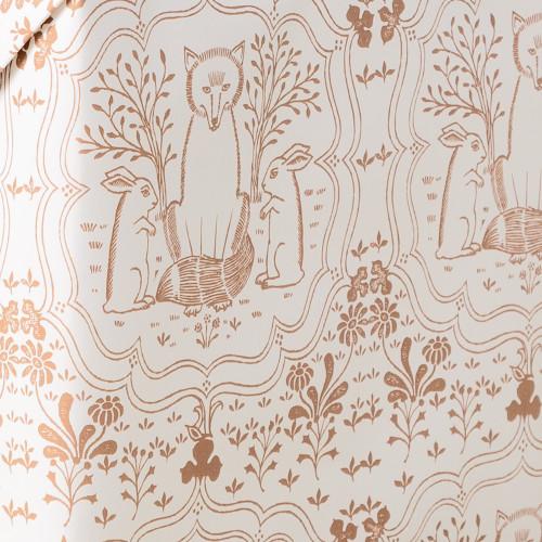 Fieldshop Fox Wrapping Paper by Garden & Gun