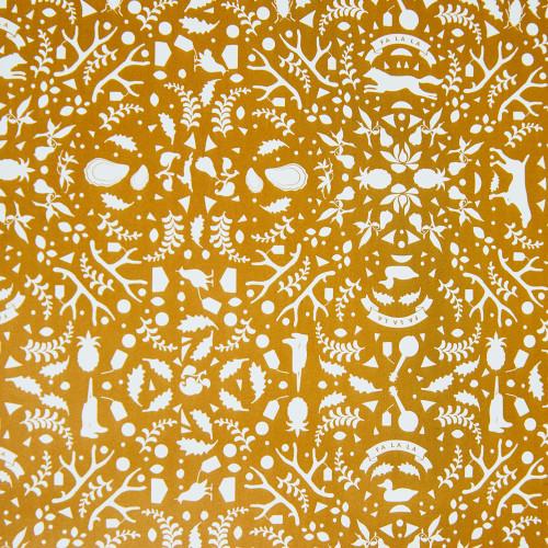 Gold Fa La La Wrapping Paper by Garden & Gun