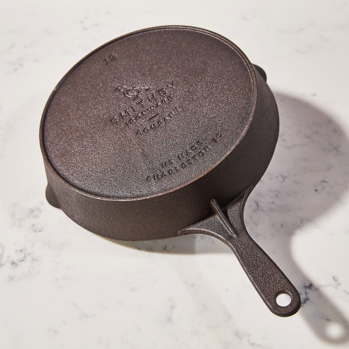 No. 12 Cast-Iron Skillet by Smithey Ironware Co.