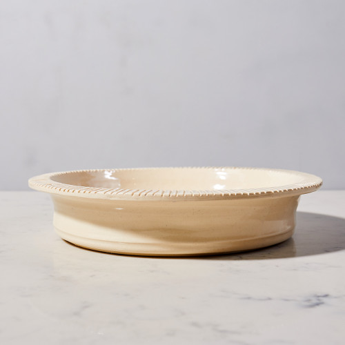 Ceramic Pie Dish by Heirloomed