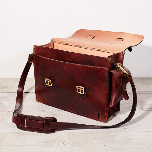 The Range Bag by Dark's Leather