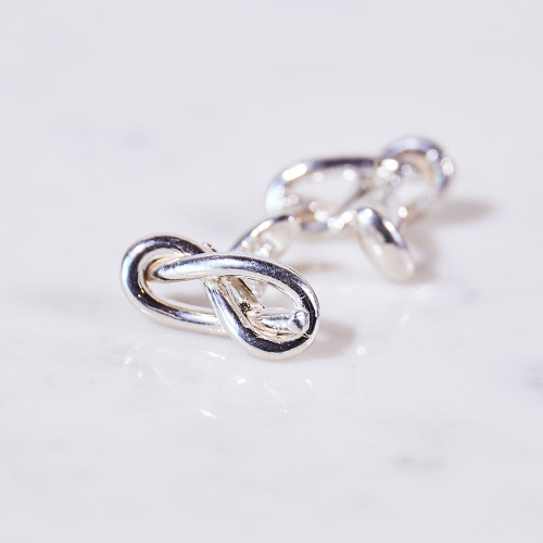 Love Knot Cufflinks by Christina Jervey