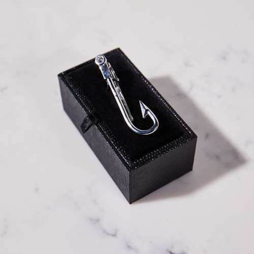 Hook Tie Bar by Stolen Riches