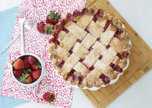 Strawberry Pie by Southern Baked Pie