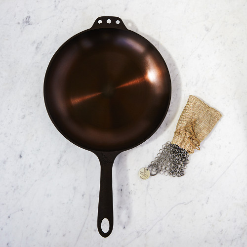 No. 10 Cast-Iron Chef Skillet by Smithey Ironware Co.