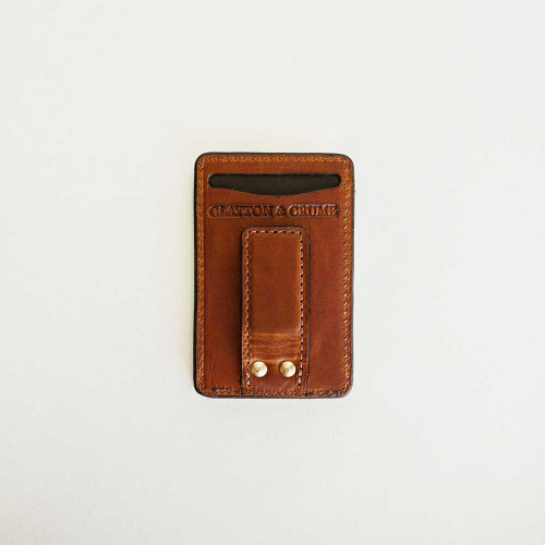 Money Clip Wallet by Clayton & Crume