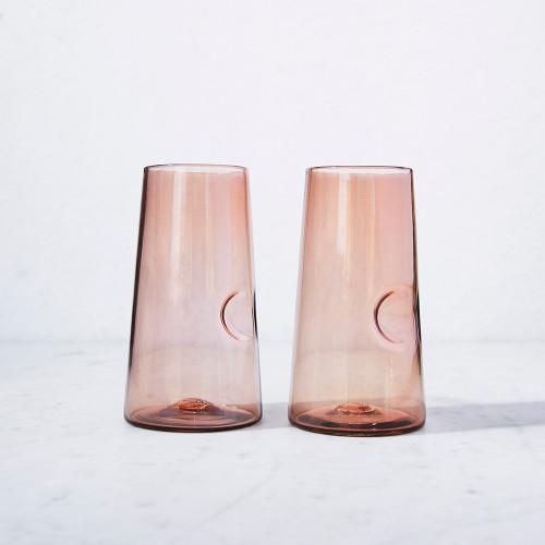 Blush Collins Glass by Terrane Glass