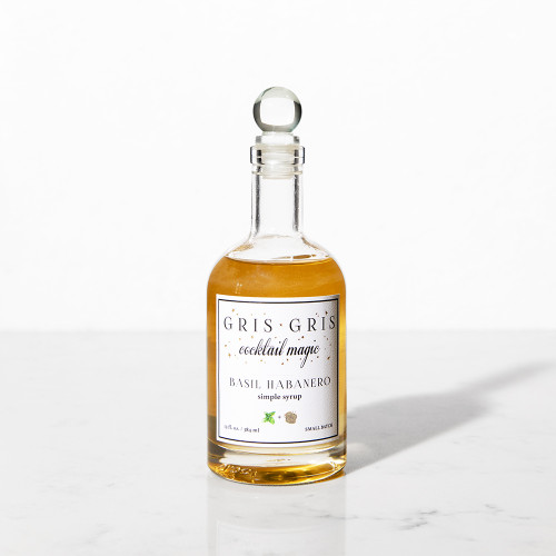 Basil Habanero Simple Syrup by Gris Gris