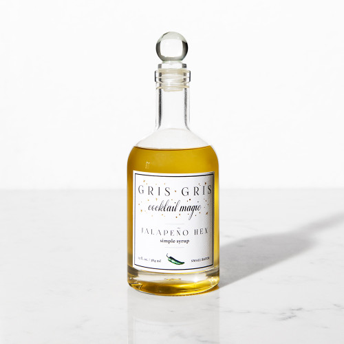 Jalapeño Hex Simple Syrup by Gris Gris Cocktail Magic