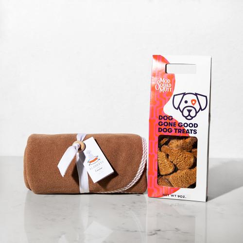 Dog Bundle by Mod Squad Mutt Treats & Blankets From Emma