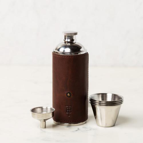 Bottle Flask by Tom Beckbe