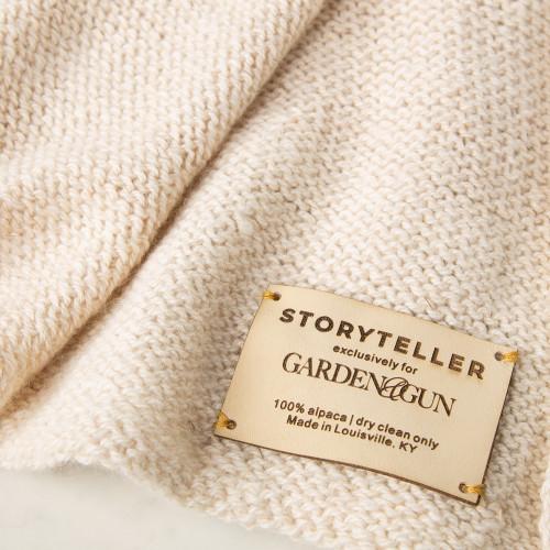 Alpaca Blanket by Storyteller