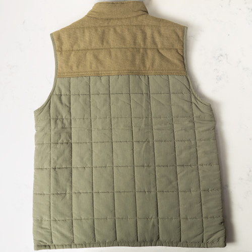 Overland Quilted Vest by Duck Head