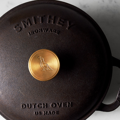 Cast-Iron Dutch Oven by Smithey Ironware Co.