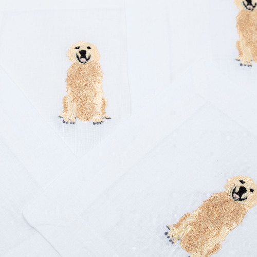 Golden Retriever Cocktail Napkins by Lettermade