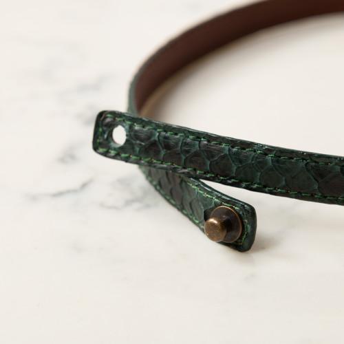 Python Bracelet by Blair's Belts