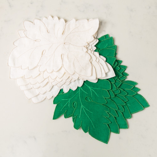 Cutworth Leaf Napkins by Gerbrend Creations