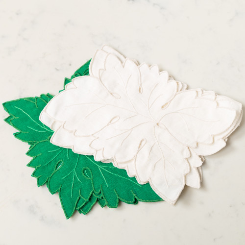 Cutworth Leaf Napkin by Gerbrend Creations