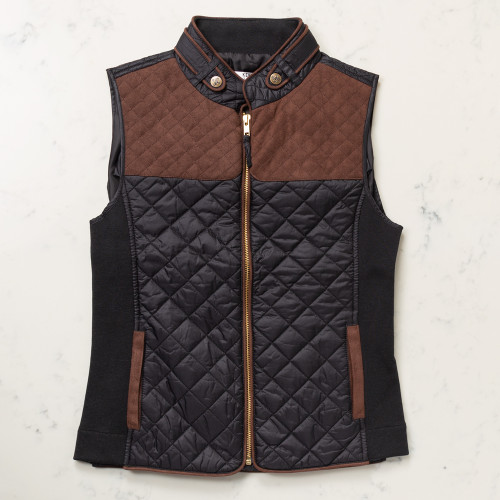 Quilted Vest by Kevin's