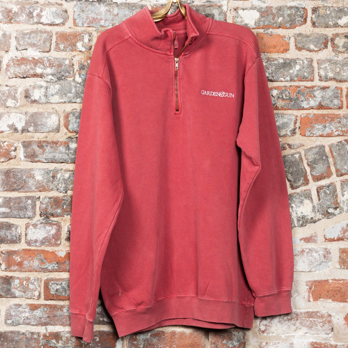 Embroidered Half Zip by Garden & Gun