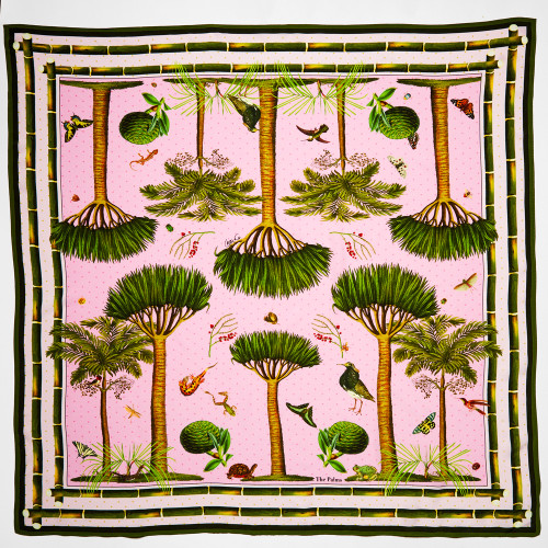 The Palm Pink Scarf by Carson & Co.