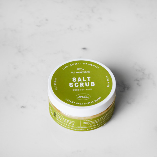 Coconut Milk Salt Scrub by Old Whaling Co.