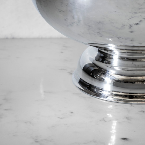 """Hotel Silver Bowl 12"""" by Corbell Silver"""